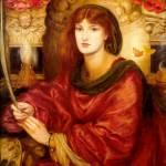 """Dante Gabriel Rossetti - Sybilla Palmifera 1866-70"" by motionage"