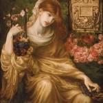 """Dante Gabriel Rossetti - The Roman Widow 1874"" by motionage"