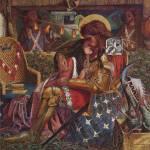 """Dante Gabriel Rossetti - The Wedding of Saint Geor"" by motionage"