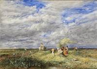 David Cox - The Hayfield 1850