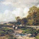 """David Bates - A Path in Wharfedale"" by motionage"