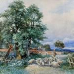 """David Bates - An Eckington Pastoral"" by motionage"