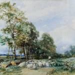 """David Bates - Near Tewkesbury 1908"" by motionage"