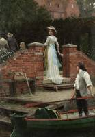Edmund Blair Leighton - The Glance that Enchants