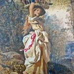 """Edward Henry Corbould - The Poultry Girl 1851"" by motionage"