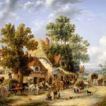 """Edward Masters - A Surrey Village"" by motionage"