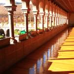 """Balcony of the Saint Dominic Priory, Cusco Peru"" by RoupenBaker"