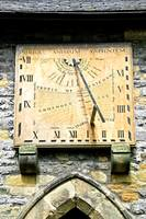 Vertical Sundial, Eyam Parish Church