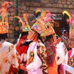 """Costumed Inti Raymi Parade Participants, Cusco Per"" by RoupenBaker"
