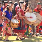 """Drummers at the Inti Raymi Inca Festival, Cusco Pe"" by RoupenBaker"
