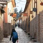 """Morning Street Scene in Ollantaytambo, Peru"" by RoupenBaker"