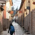 """Street in Ollantaytambo Peru"" by RoupenBaker"