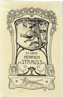 Ehringhausen, Willy - a Heinrich Strauss,  1900-05