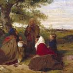 """""""Erskine Nicol - Wayside Prayer 1852"""" by motionage"""