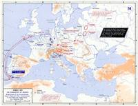 European strategic situation in 1805 before the Wa