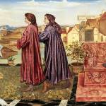 """Evelyn de Morgan - The Garden of Opportunity 1892"" by motionage"
