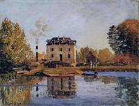 Factory in the Flood, Bougival, 1873