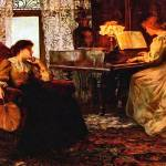 """Francis Sydney Muschamp - The Piano Lesson"" by motionage"