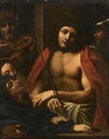 Follower of Correggio (1489-1534), Christ presente