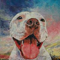 Pitbull Art Prints & Posters by Michael Creese