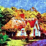 """""""country cottages 21D2"""" by ArtTylers"""