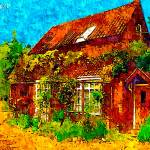 """""""country cottages 23D2"""" by ArtTylers"""