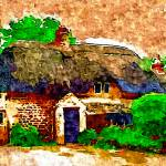 """""""COUNTRY COTTAGES 24D2"""" by ArtTylers"""