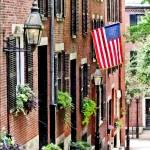 """Boston MA - Acorn Street"" by susansartgallery"