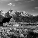 """Moulton Barn 4 B&W"" by BLPhoto"