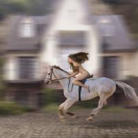 Lady Godiva Protest Ride Photo Art Prints & Posters by Stephanie Roeser