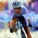 """cyclist"" by ArtbySachse"
