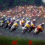 """""""motorcycle race"""" by ArtbySachse"""