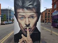 Street Art Tribute - Bowie