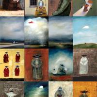 Monk Poster Art Prints & Posters by Mary Scrimgeour