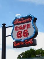 Cruiser's Cafe 66 Sign