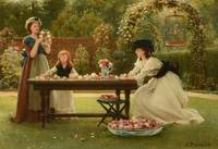 George Dunlop Leslie (1835-1921), Feast of Roses