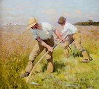 George Clausen - The Mowers 1885