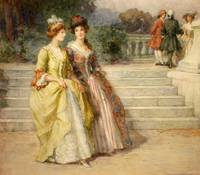 George Sheridan Knowles - An Afternoon Stroll