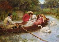 George Sheridan Knowles - Summer Pleasures on the