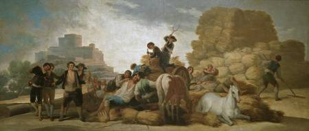 Goya y Lucientes, Francisco - The Threshing Floor
