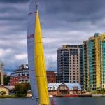 """Sailboat at Kingston Ontario, Canada"" by lightbehaviour"