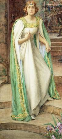 Henry Meynell Rheam - The Lady of Shallott