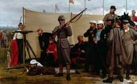 Henry Tanworth Wells - Volunteers at the Firing Po