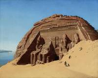 Hubert Sattler,  The Rock Temple of Abusimbel 1846