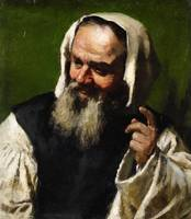 Jahn Ekenaes, Portrait of a Man in a Smock