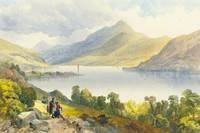 James Burrell Smith - Loch Tay, near Kinmore 1852
