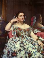 Jean-August-Dominique Ingres - Madame Paul Sigisbe