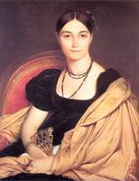 Jean-August-Dominique Ingres - Portrait of Madame