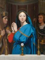Jean-August-Dominique Ingres - The Virgin Adoring
