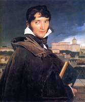 Jean-August-Dominique Ingres - The Painter Francoi